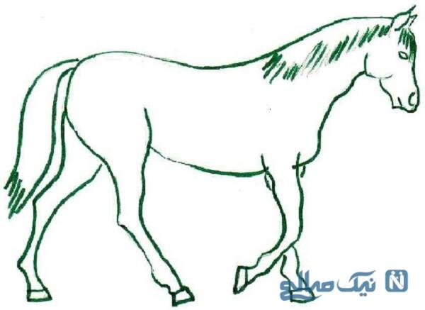 کاردستی اسب سه بعدی