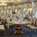 تصاویری از عروسی بسیار لاکچری پسر آقای سفیر