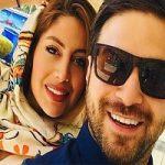 عکس جدید بابک جهانبخش و همسر دومش