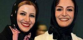 عکس سلفی ملیکا زارعی با خواهرش