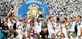 جشن قهرمانی رئال مادرید در لیگ قهرمانان اروپا با ۳ گل زیبا و خاص +تصاویر