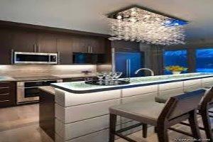 آشپزخانه زیبا بدون هزینه