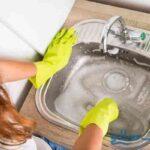 ضدعفونی سینک ظرفشویی