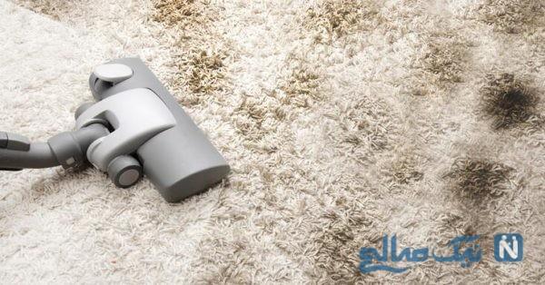 از بین بردن پرز فرش
