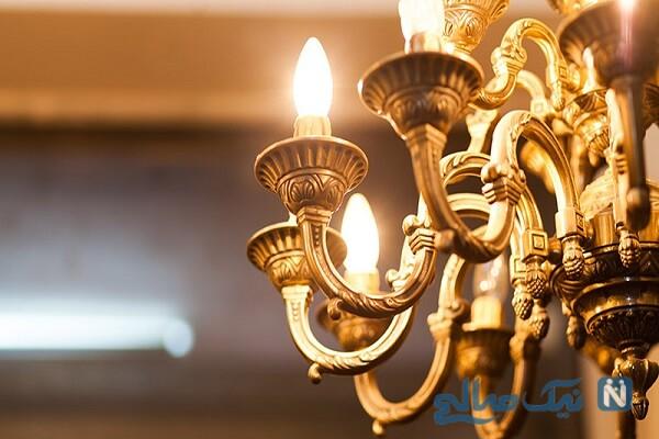 بدون هزینه لوستر و چراغهای کهنه تان را نو کنید