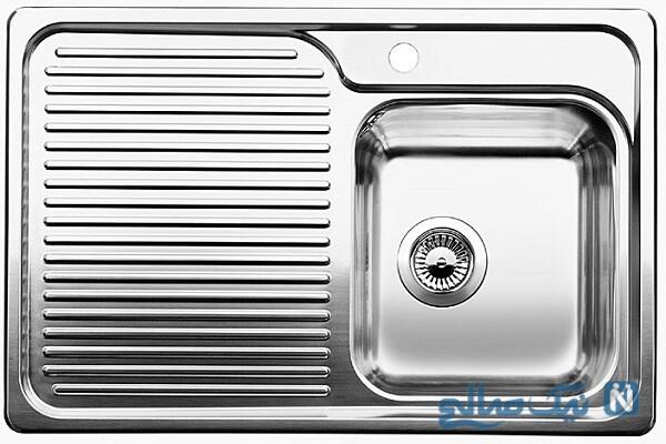 روش براق کردن سینک ظرفشویی و ظروف استیل