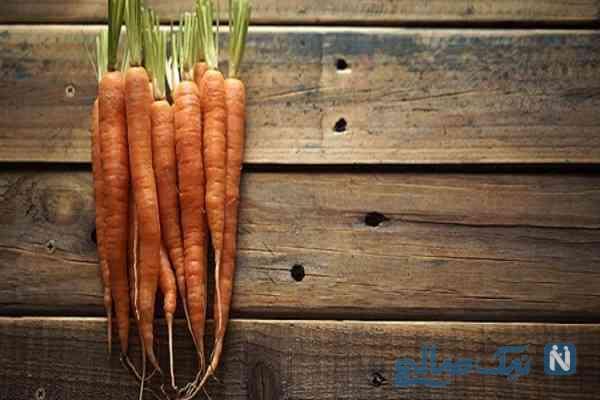 جلوگیری از پلاسیده شدن هویج در خانه