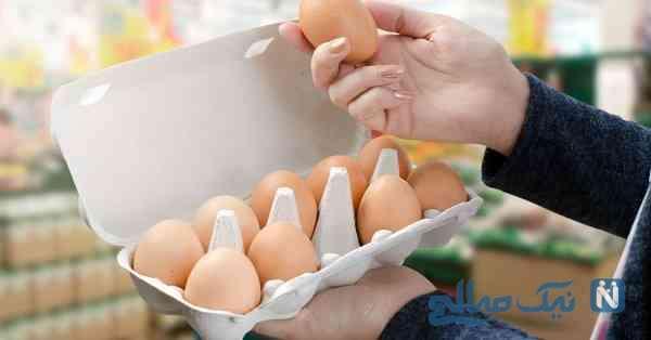 محو ترک تخم مرغ