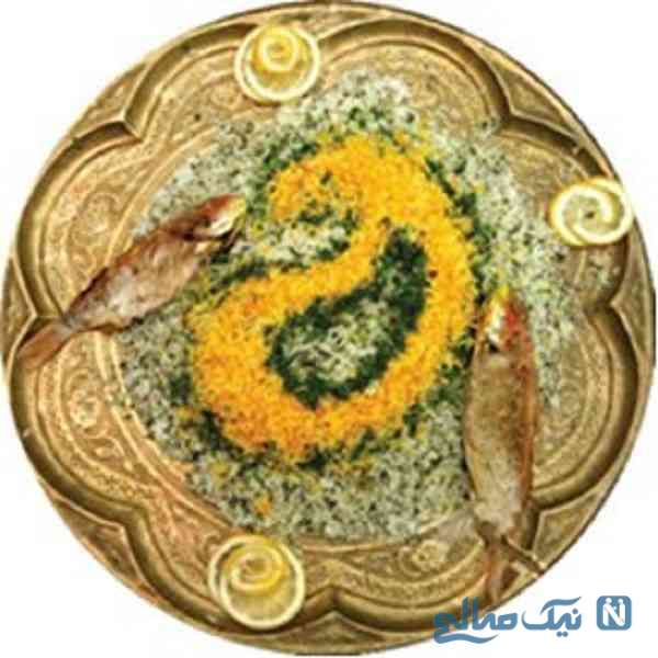 تزئین برنج
