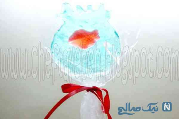 طرز تهیه آبنبات تنگ ماهی برای عید نوروز