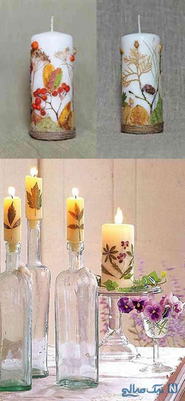 تزیین شمع هفت سین
