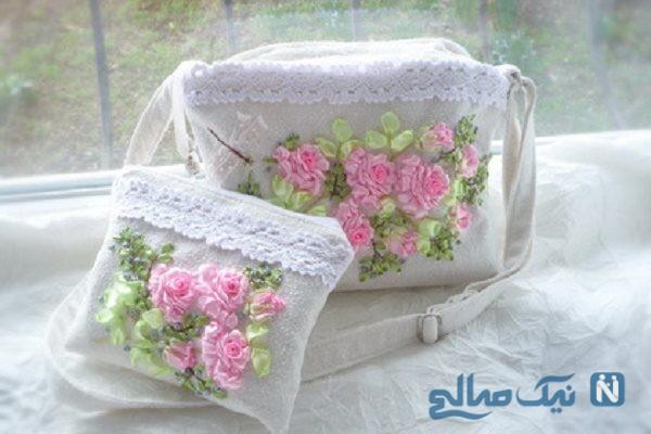 کیف های روبان دوزی
