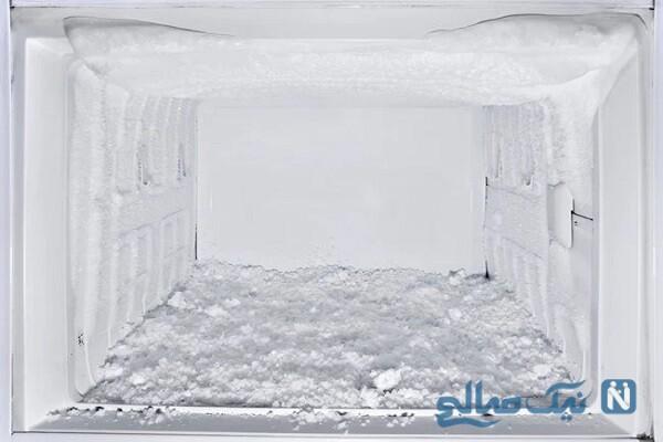 علت زیاد برفک زدن یخچال و راه حل+ عکس
