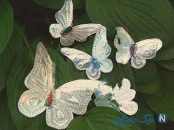 پروانه های آلومینیومی