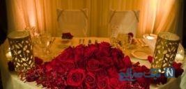 تزئین میز شام عروس و داماد + تصاویر جذاب