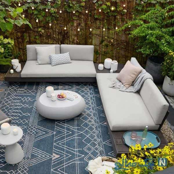ایده طراحی حیاط خلوت