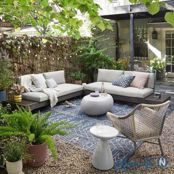 زیباسازی حیاط خلوت