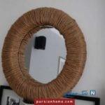 ۱۰ مدل آینه دست ساز برای خانه!!+تصاویر