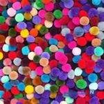 آموزش ساخت پوم پوم های رنگی+تصاویر