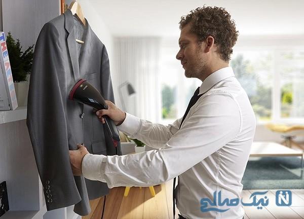 از بین بردن برق افتادگی لباس