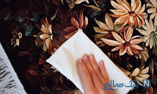 روش شستشوی تابلو فرش