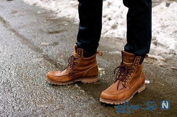 نگهداری کفش زمستانی