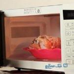 چگونگی یخ زدایی انواع مواد غذایی در مایکروفر