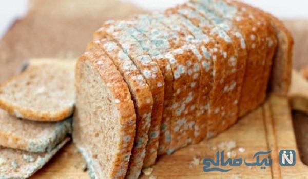جلوگیری از کپک زدن نان