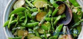 چگونه سبزی ها پس از پختن سبز بمانند