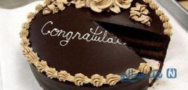 تزیین کیک شکلاتی خانگی +تصاویر