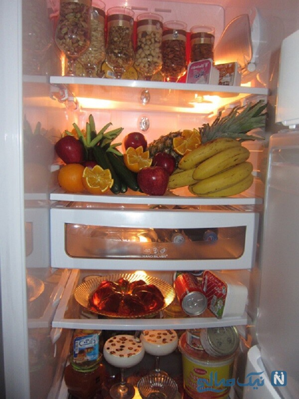 تزیینات یخچال عروس