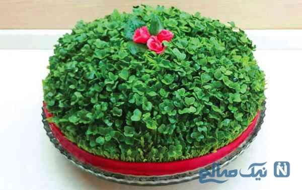 کاشت سبزه عید متفاوت