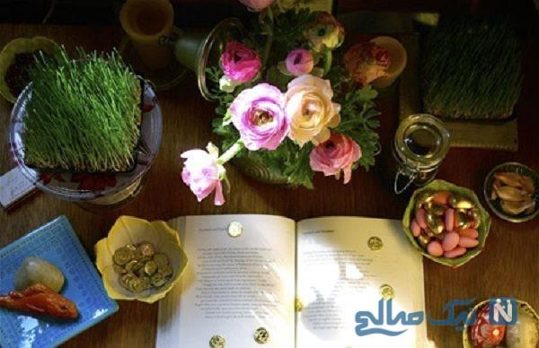 ایده برای تزیین سبزه هفت سین
