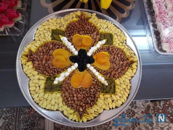 تزیین آجیل عید عروس