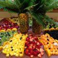 تزیین میوه روی میز+تصاویر