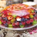 تزیین ژله با میوه +تصاویر