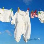 سفید و درخشان کردن لباسهای سفید