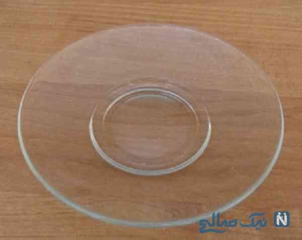 تزیین ظروف شیشه ای