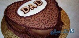 تزیین کیک روز پدر +تصاویر