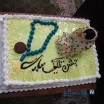تزیین کیک جشن تکلیف+تصاویر