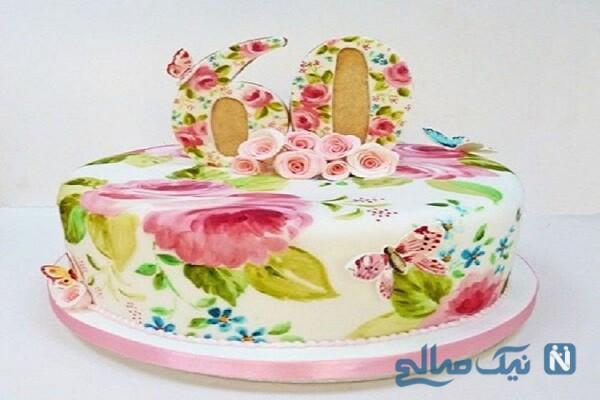 نمونه هایی زیبا از نقاشی روی کیک تولد+تصاویر
