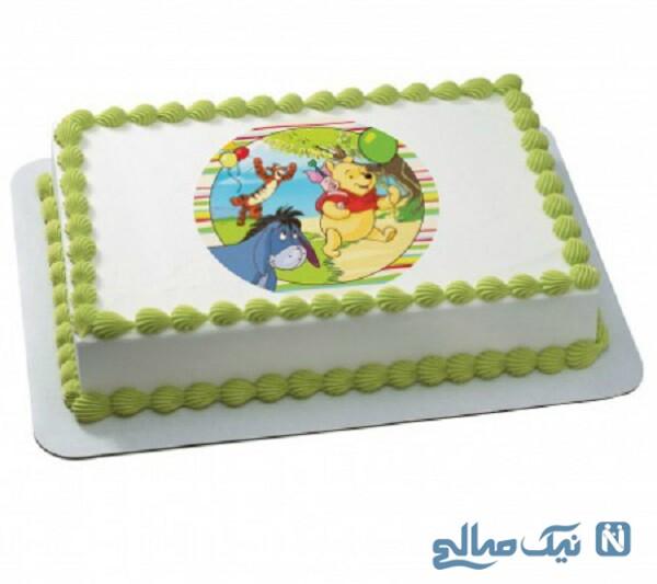 نقاشی روی کیک