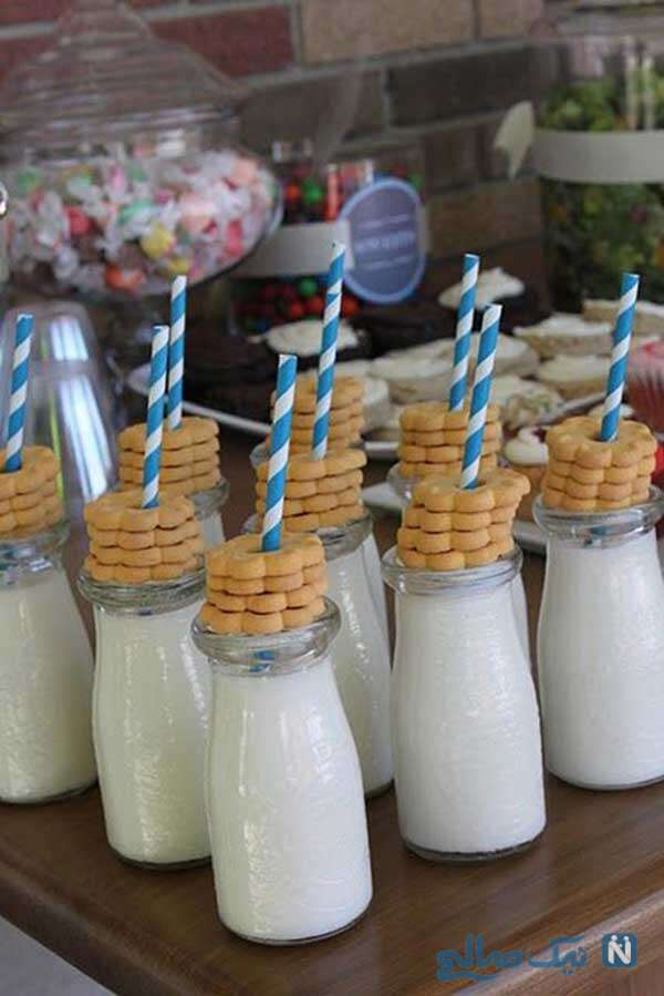 زیباترین تزیین بطری های شیر