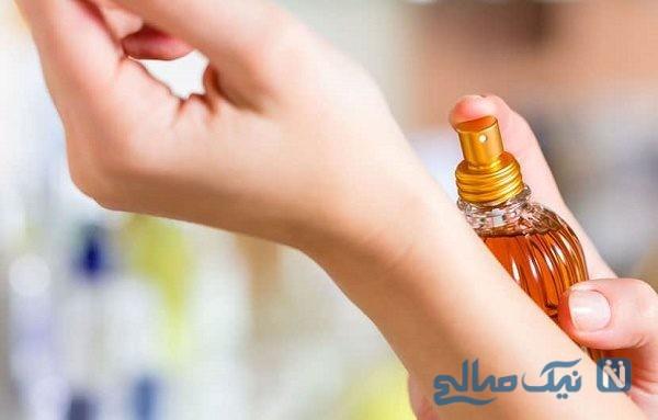 راههای ماندگار کردن بوی عطر و اودکلن درتابستان