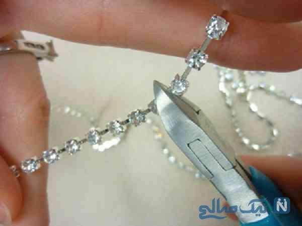 آموزش جواهرنما روی ظروف