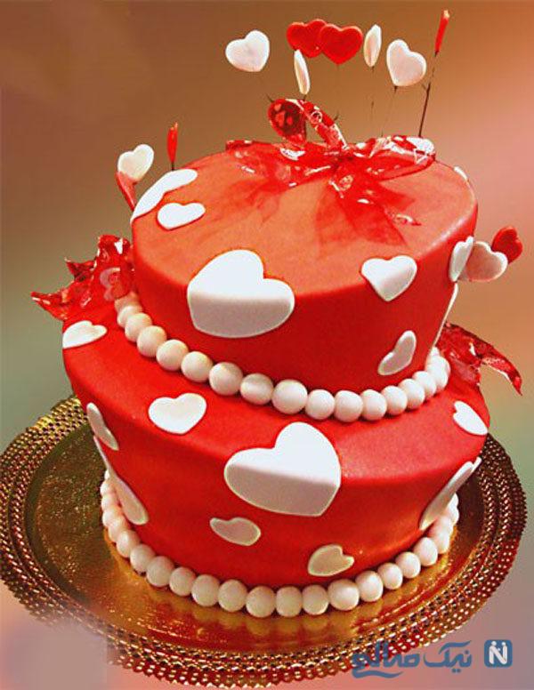 طراحی روی کیک