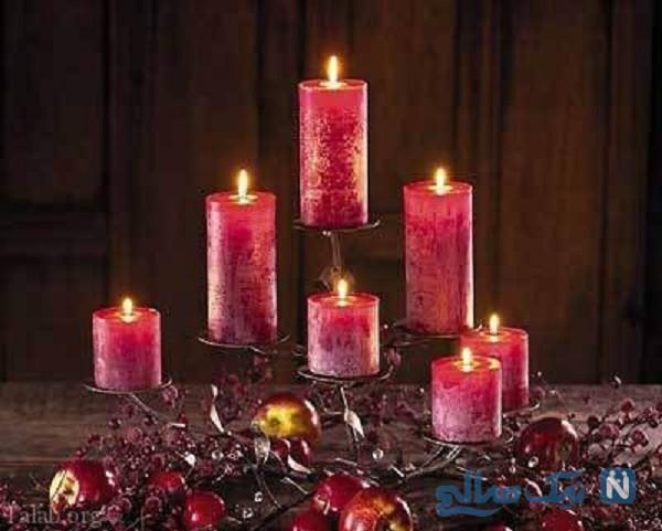 آموزش تزیین شمع با سوزنهای تزئینی