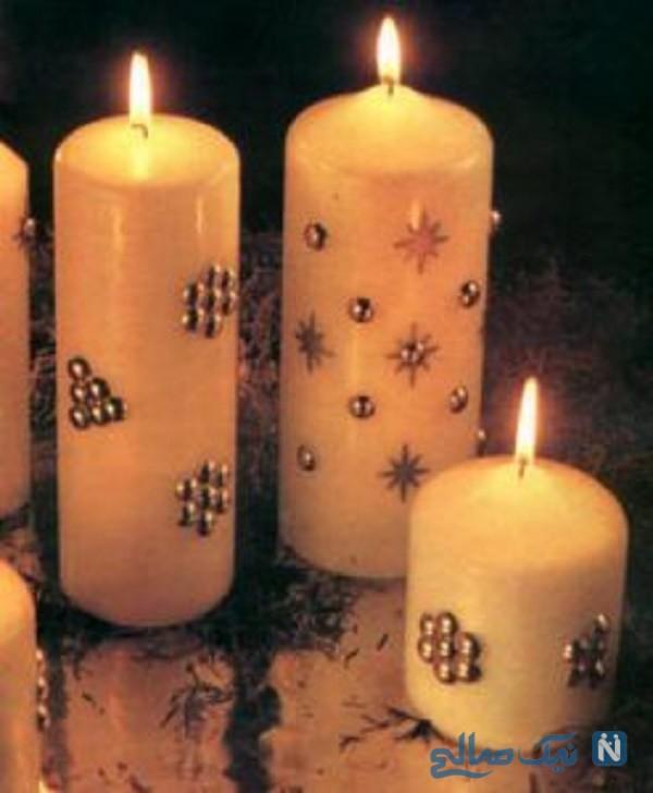 آموزش تزیین شمع