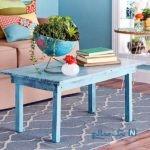 آموزش رنگ کردن میز به سبک قدیمی درخانه+تصاویر