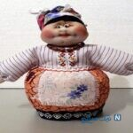 آموزش ساخت عروسک بامزه برای آشپزخانه +تصاویر
